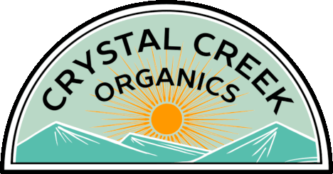 Crystal Creek Organics logo
