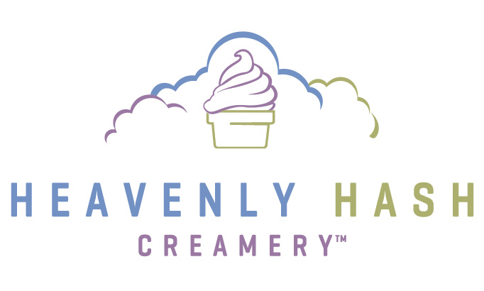 Heavenly Hash Creamery logo